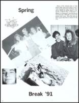 1991 John Glenn High School Yearbook Page 92 & 93