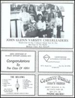 1991 John Glenn High School Yearbook Page 162 & 163