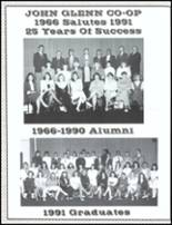 1991 John Glenn High School Yearbook Page 174 & 175