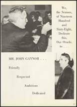 1968 Central Cambria High School Yearbook Page 10 & 11