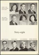 1968 Central Cambria High School Yearbook Page 32 & 33