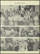 1954 Rosebud-Lott High School Yearbook Page 20 & 21