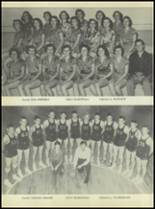 1954 Rosebud-Lott High School Yearbook Page 34 & 35