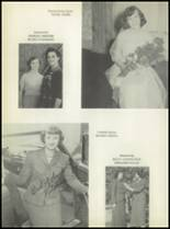 1954 Rosebud-Lott High School Yearbook Page 40 & 41
