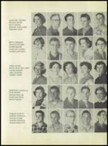 1954 Rosebud-Lott High School Yearbook Page 54 & 55
