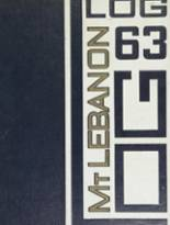 1963 Yearbook Mt. Lebanon High School