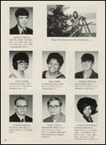 1972 Idabel High School Yearbook Page 42 & 43