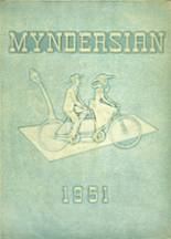 1951 Yearbook Mynderse Academy