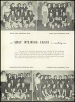 1951 Pleasantville High School Yearbook Page 28 & 29