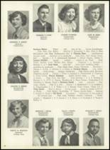 1951 Pleasantville High School Yearbook Page 50 & 51