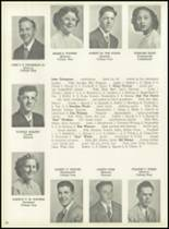 1951 Pleasantville High School Yearbook Page 52 & 53