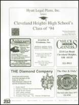 1994 Cleveland Heights High School Yearbook Page 236 & 237