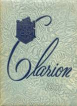 1951 Yearbook Grover Cleveland High School
