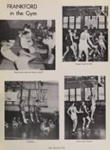 1963 Frankford High School Yearbook Page 116 & 117