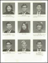 1967 Punahou School Yearbook Page 266 & 267