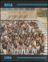 1994 Calabasas High School Yearbook Page 44 & 45
