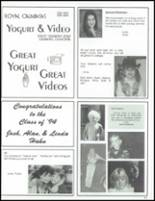 1994 Calabasas High School Yearbook Page 256 & 257