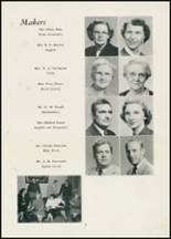 1954 Thomasville High School Yearbook Page 10 & 11