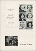 1954 Thomasville High School Yearbook Page 14 & 15