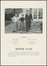 1954 Thomasville High School Yearbook Page 16 & 17