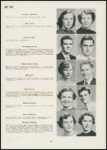 1954 Thomasville High School Yearbook Page 20 & 21