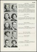 1954 Thomasville High School Yearbook Page 24 & 25
