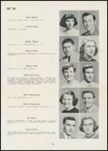 1954 Thomasville High School Yearbook Page 28 & 29