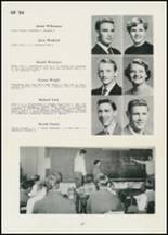 1954 Thomasville High School Yearbook Page 30 & 31