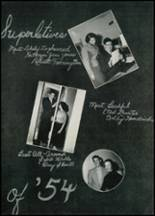 1954 Thomasville High School Yearbook Page 34 & 35