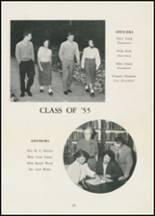 1954 Thomasville High School Yearbook Page 36 & 37