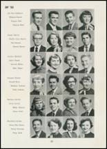 1954 Thomasville High School Yearbook Page 38 & 39