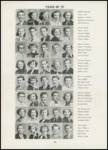 1954 Thomasville High School Yearbook Page 50 & 51