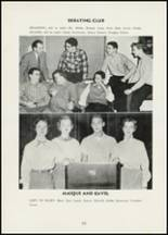 1954 Thomasville High School Yearbook Page 66 & 67