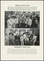 1954 Thomasville High School Yearbook Page 76 & 77