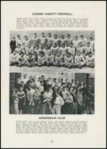 1954 Thomasville High School Yearbook Page 86 & 87