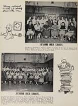 1954 Rye High School Yearbook Page 44 & 45