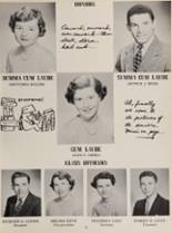 1954 Rye High School Yearbook Page 58 & 59
