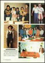 1984 Baird High School Yearbook Page 14 & 15