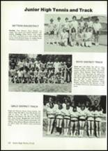 1984 Baird High School Yearbook Page 124 & 125