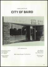 1984 Baird High School Yearbook Page 132 & 133