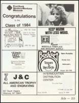 1984 Big Sky High School Yearbook Page 224 & 225