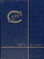 1971 Yearbook Chambersburg Area Senior High School