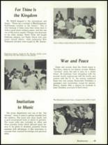 1966 Fox Valley Lutheran High School Yearbook Page 52 & 53
