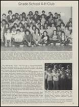 1983 Mountain View-Gotebo High School Yearbook Page 56 & 57