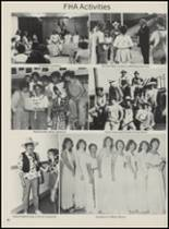 1983 Mountain View-Gotebo High School Yearbook Page 86 & 87