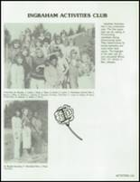 1983 Ingraham High School Yearbook Page 154 & 155