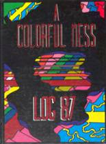 1987 Yearbook Lincoln High School