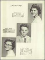 1957 Jackson Township High School Yearbook Page 16 & 17
