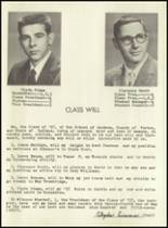 1957 Jackson Township High School Yearbook Page 18 & 19
