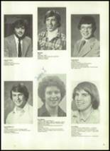 1981 Mill River Union High School Yearbook Page 16 & 17